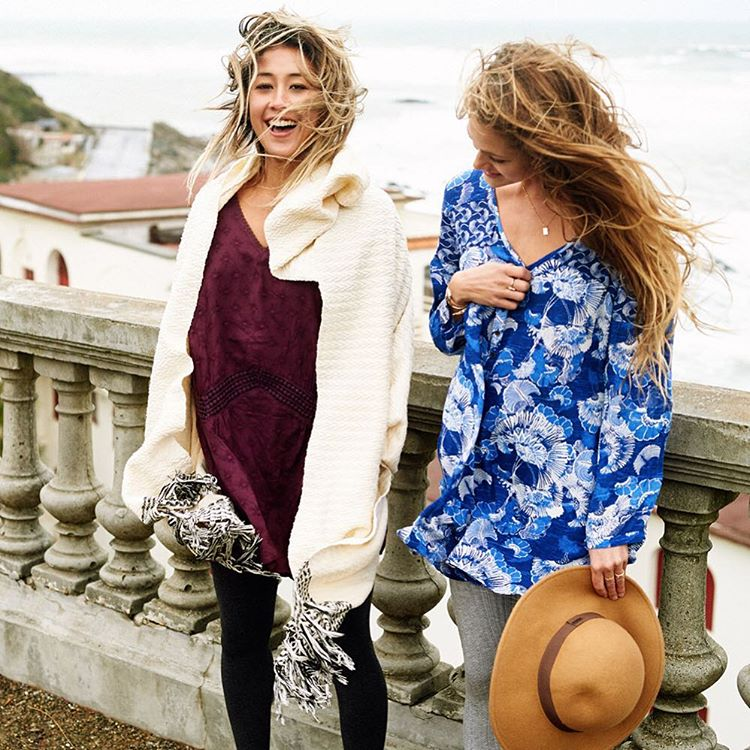 Ready to roam, whatever the weather may be. Get set to take your favorite summer styles through to a new season in layers we love.