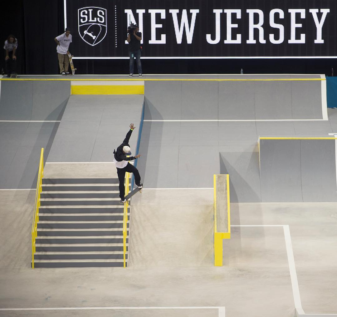 Shout out to @tommyfynn for ripping all weekend at @SLS New Jersey and finishing in 3rd place. Noseblunt, Photo: @blabacphoto #TommyFynn #DCShoes