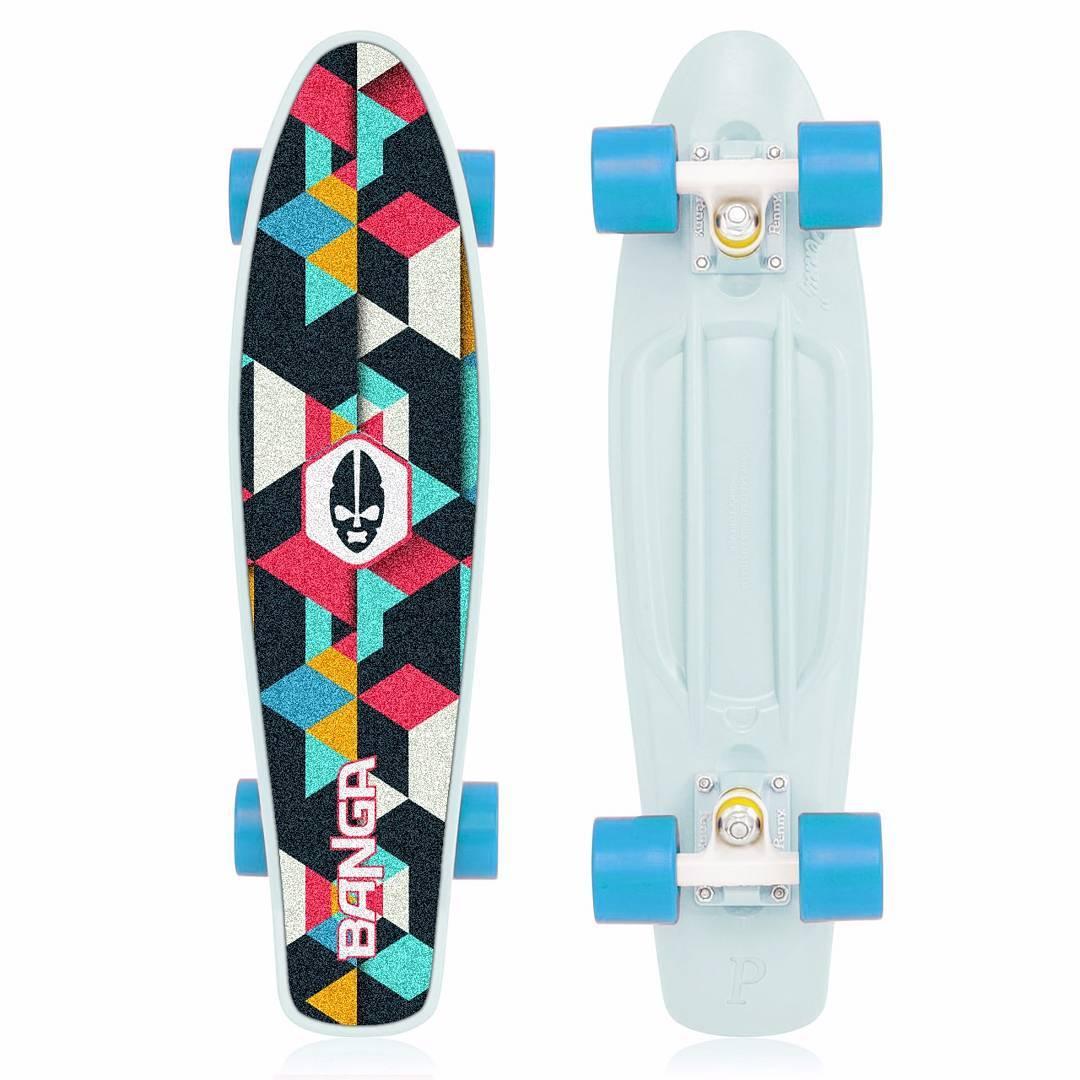 Los nuevos mini cruiser de BANGA la rompen!. . . . . . @AppLetstag #skate #skatelife #skateboarding #skater #skateboard #longboard #skating #sk8 #longboarding #nikesb #skateshop #swag #penny #instaskate #style #skaters #lifestyle #girl #skatergirl...