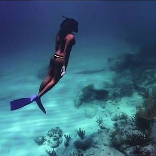 #getoutthere… and see what it's like to breathe underwater
