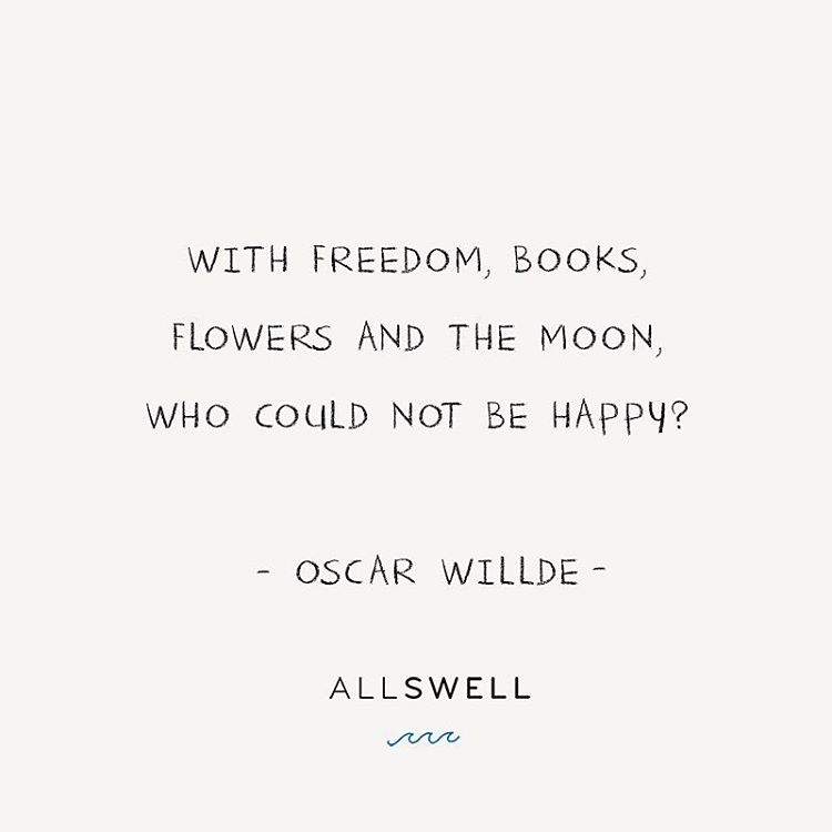 Though he often sarcastically feigned otherwise, we believe that deep down #OscarWilde understood the value in the little things over superficiality and materialism.