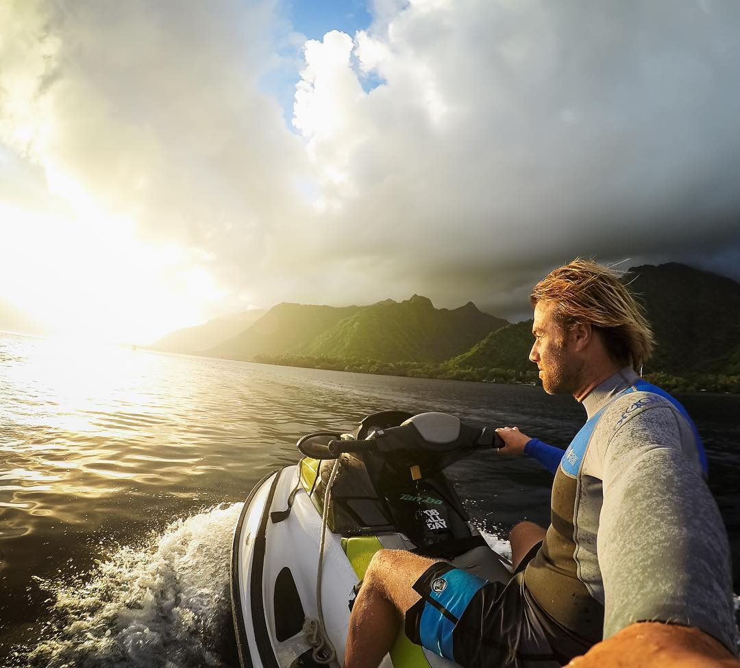 All you gotta do is like this photo for a chance to #win a GoPro Swag Bag: a #HERO4Black, 3-Way Mount, SD Card, Hat, Strap and Handler. The legend Mr. @anthony_walsh_ is closing out our #GoPro10M celebration! We're riding off into the #sunset and...