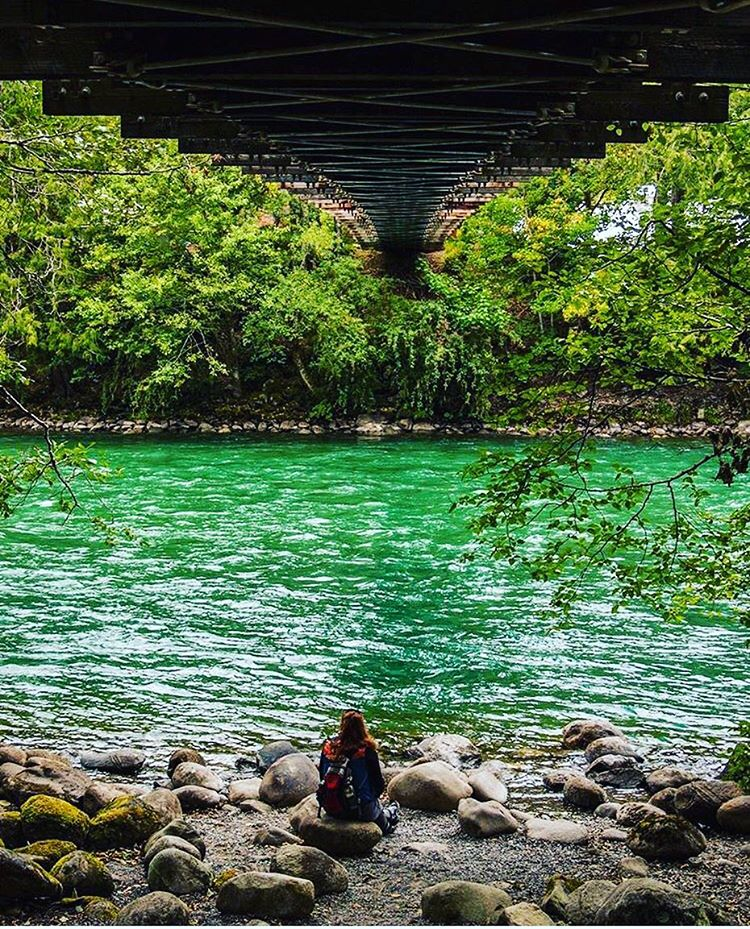 THE GREEN ROOM #radparks shot of @letamaile courtesy of @micahjonet #underthebridge #findyourpark