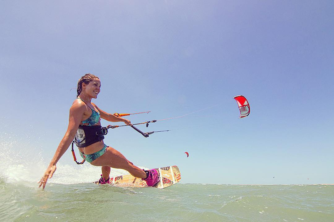 We design activewear bikinis that look awesome and stay put so you can concentrate on doing what you love. Get out there!  #girlswhorip #kiteboarding #kitesurf #travel #kite #brazil #asdt #adventurebabes