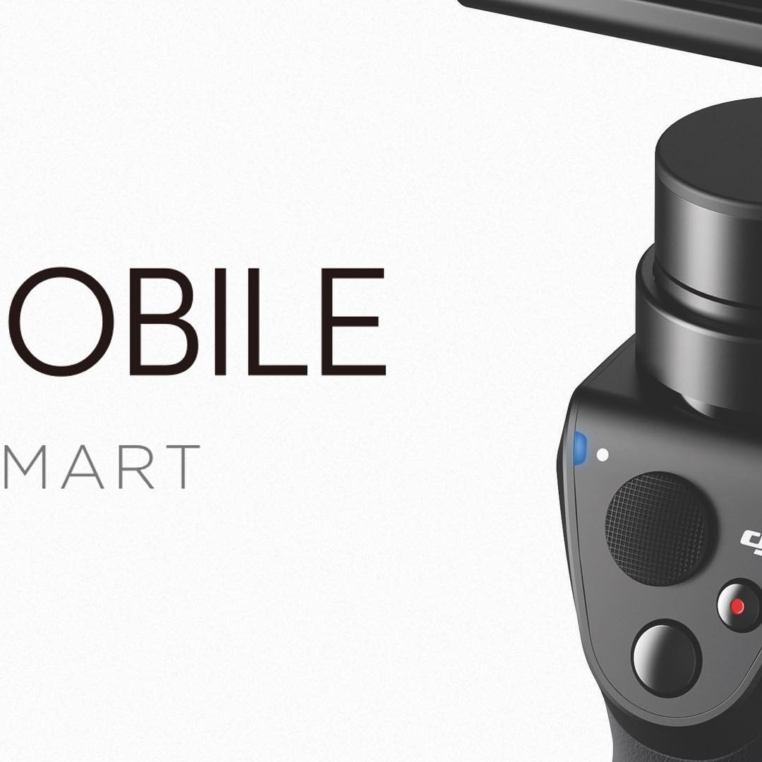 Introducing the new #DJI #OSMOMobile, turning your mobile into a smart motion camera. Click the link in our bio to learn more! #BeyondSmart
