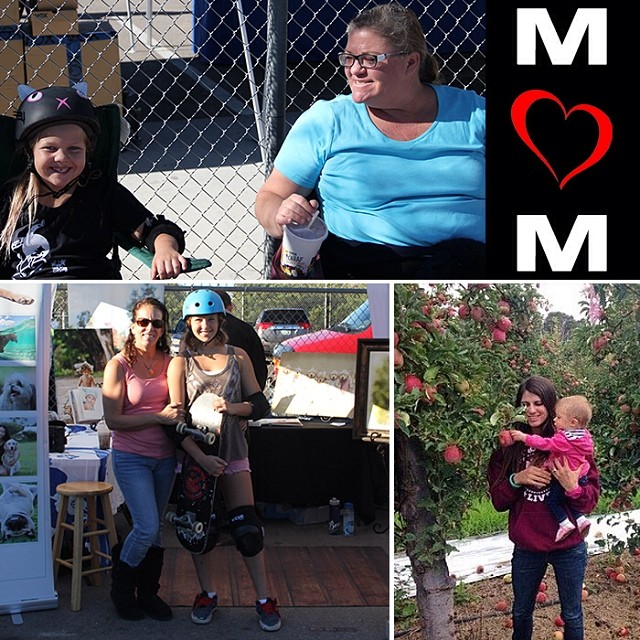 Happy #MothersDay!!! #ThankYou for all the love and support and showing us how to be good people. ❤️❤️❤️ #moms #mom #skatemoms #momsthatskate #skatermoms