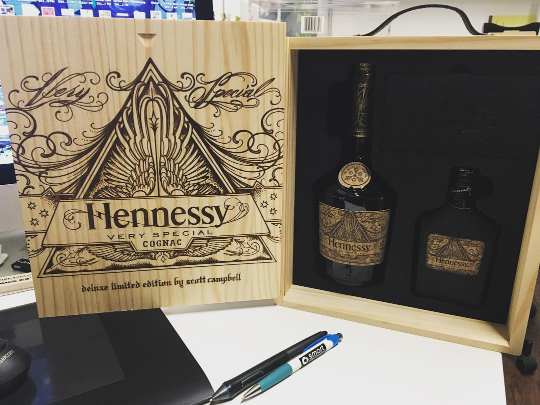 """Fan Mail"" • • Kidding....But for real tho.  Thank you @hennessyus for the gift."