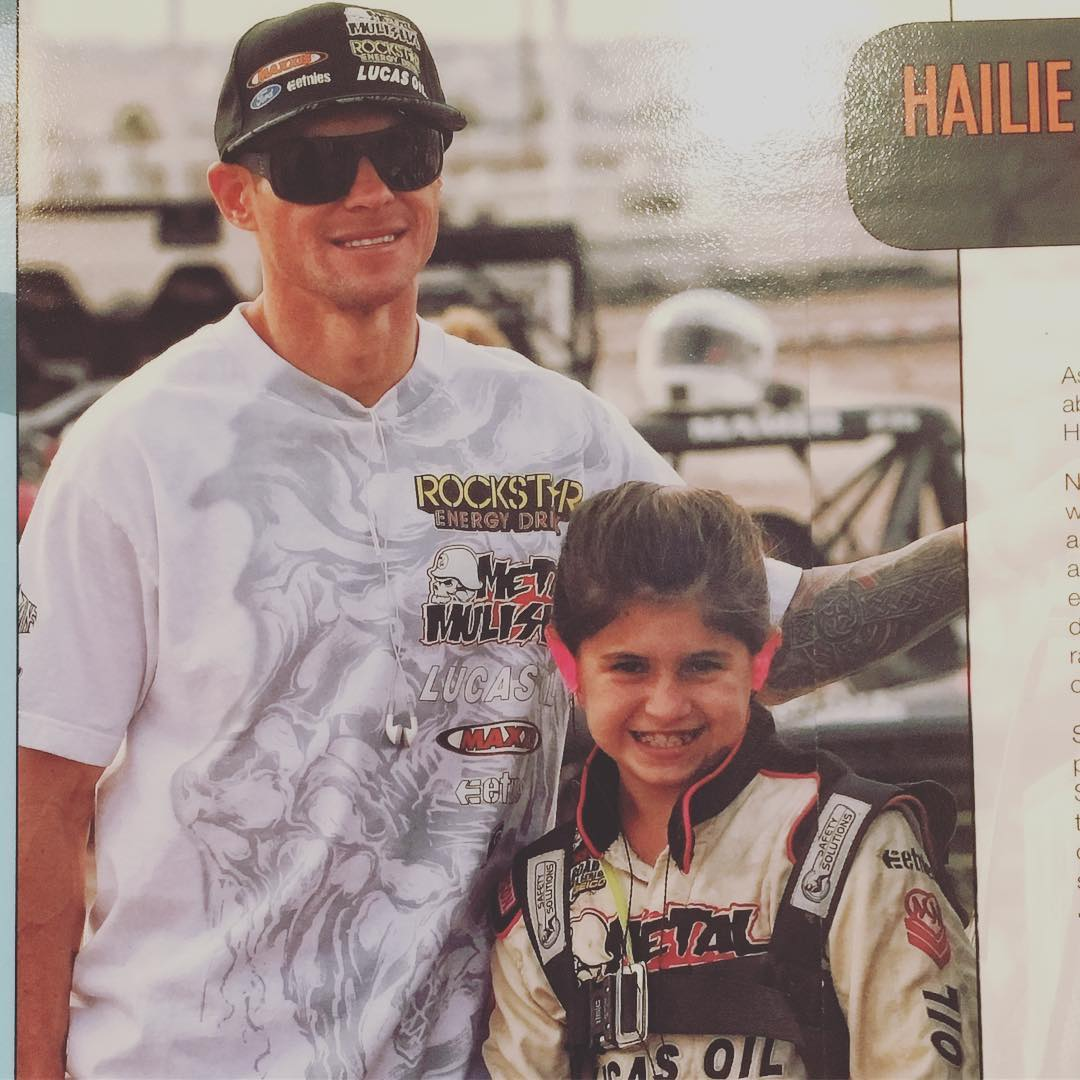 Guess what year???? #TBT @hailiedeegan #offroad