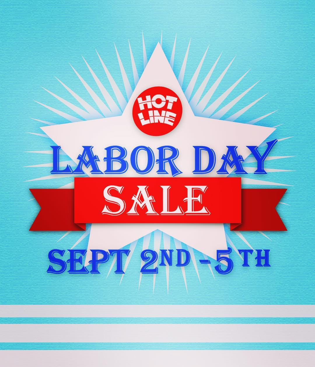 Labor Day Sale!!! Stop by the Hotline Showroom Sept. 2nd - 5th for great deals!!! (This sale will not be on our website. Please call the showroom (831)425-5924 if you would like to order.) #laborday #sale #surf #surflife