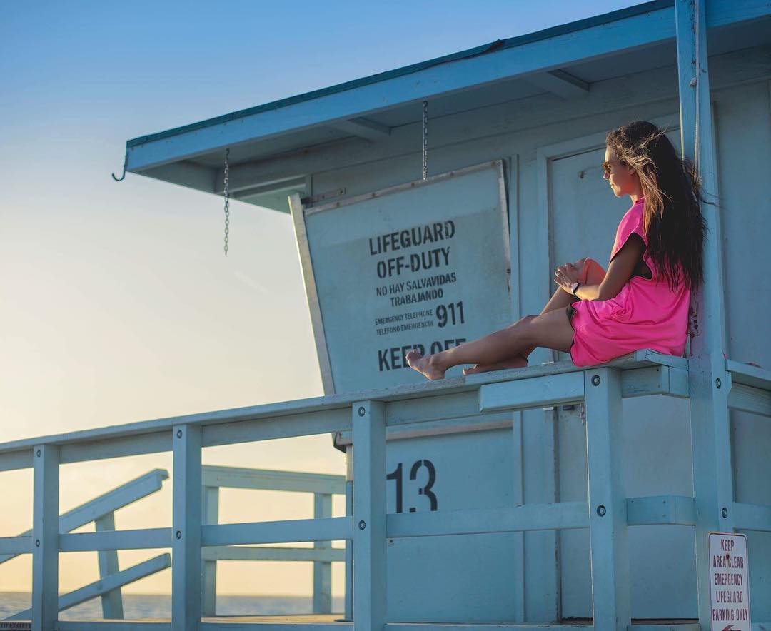 Don't listen to what they say. Go see. . AVAILABLE FLUOR PINK PONCHO . #palapapa #bettertogether #nature #outdoorlife #surfclothing #surf #kitesurf #wakeboard #explore #california #calilife #losangeles #santamonica #beach #sea #ocean #sunset