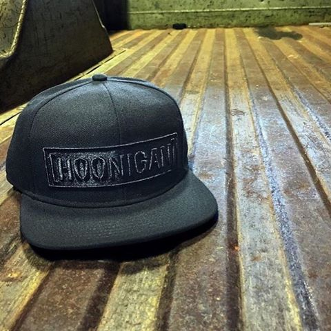All black with the snap on the back. We got plenty of new and classic styles of headware, hit the link in our bio to see more. #hooniganDOTcom