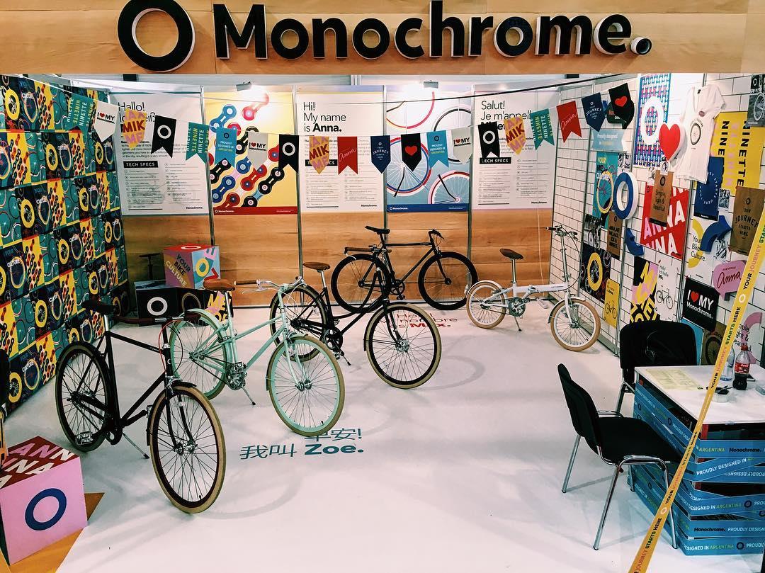 3rd day at EuroBike #EurobikeShow #monochromebikes #ilovemymonochrome