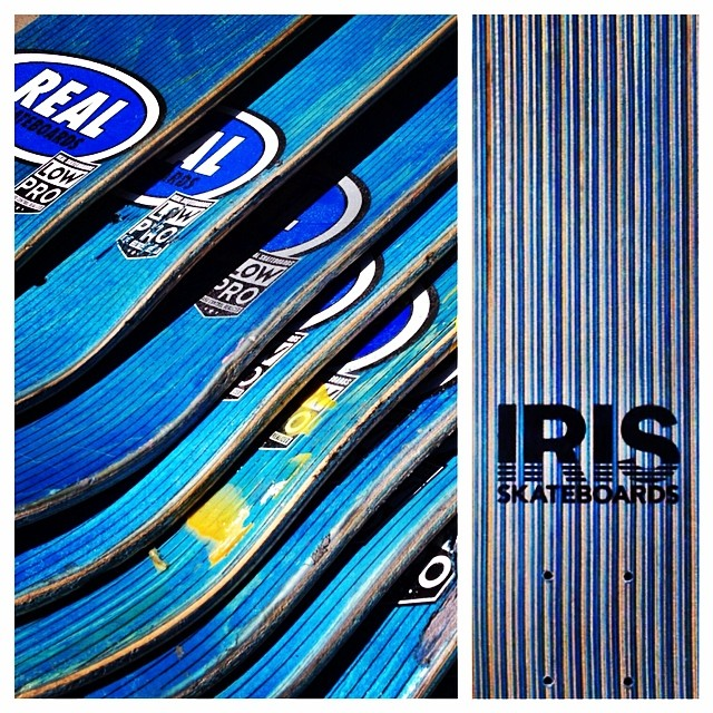 A new batch of limited edition LPs are on the way! Thank you @dlxskateshop @dlxsf @realskateboards @jimthiebaud @mickeyreyes @natealton for your support and dedication to keeping old decks out of the landfills. #irisskateboards #recycledskateboards...