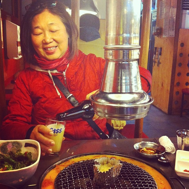Happy Mothers Day to my mom who gave me the love of travel, food and adventure #travel #mom #korea #foodie #goodtimes