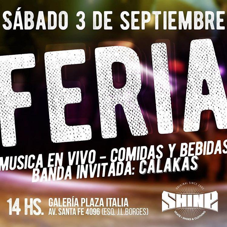 Ofertas increibles (nuevo y usado) en #galeriaplazaitalia Feria, musica y barra @mazuntebar , banda en vivo @calakaspunk @true_life_tattoo @feriaamericanadelasratas @tiendaalabama