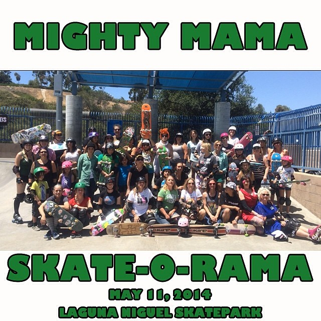 Such a fun #MothersDay at the #MightyMamaSkateORama. #skatemoms #skate #skateboarding #skatelife @pattimcgee @originalbettyskateco @yeahailey @mattgaudio @sillygirlskateboards @brightonzeuner @bridgetzeuner