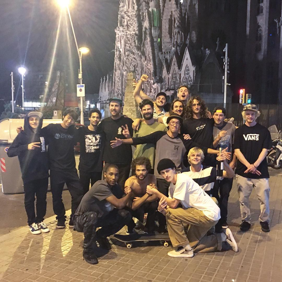 The #elementmakeitcount global finals is on! Six finalists from all over the world are out here in Barcelona, Spain to film parts in the streets with the Element team. Stay tuned for more clips!!