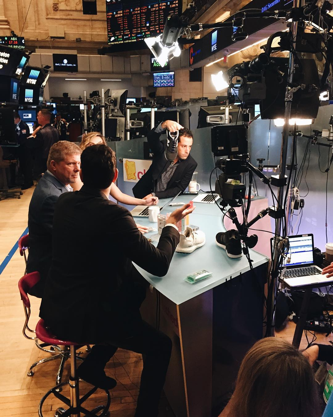 This past Thursday, we went live from the floor of the @nyse with @cheddartv! Check out the full interview via Facebook. #lifewithoutlaces