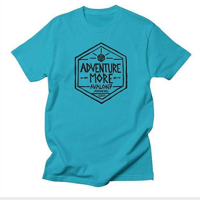 We've been putting a little tshirt line together lately.  Here's a new #AdventureMore design by our founder @robkingwill.  Check it out at www.avalon7.co!  #avalon7 #liveactivated #higherstate