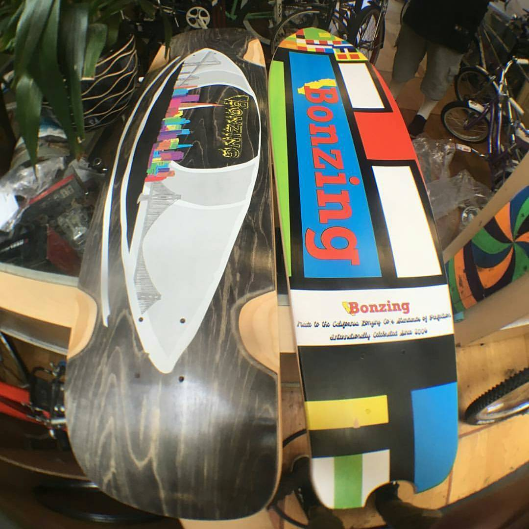 Hey Eastbay! We have a new shop on board with the Bonzing stoke. Berkeley Bikes and Skateboards is the most local shop to Bonzing HQ. Send anybody looking for a great board to Berkeley Bikes and Skateboards on San Pablo, north of...