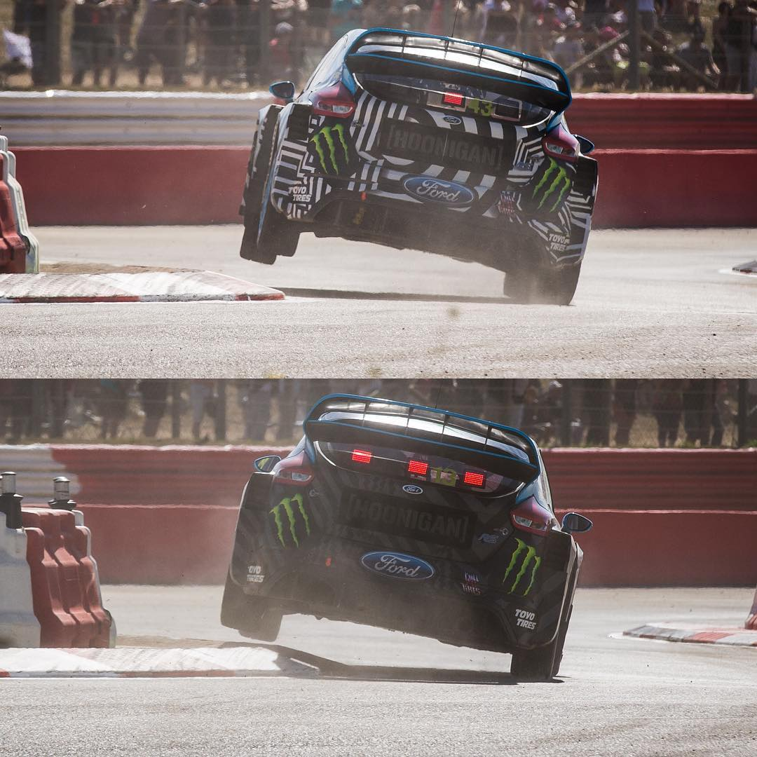 Apex slayers, HHIC @kblock43 and teammate @andreasbakkerud crushing corners at #LoheacRX! #killallcurbing #Worldrx #FocusRS