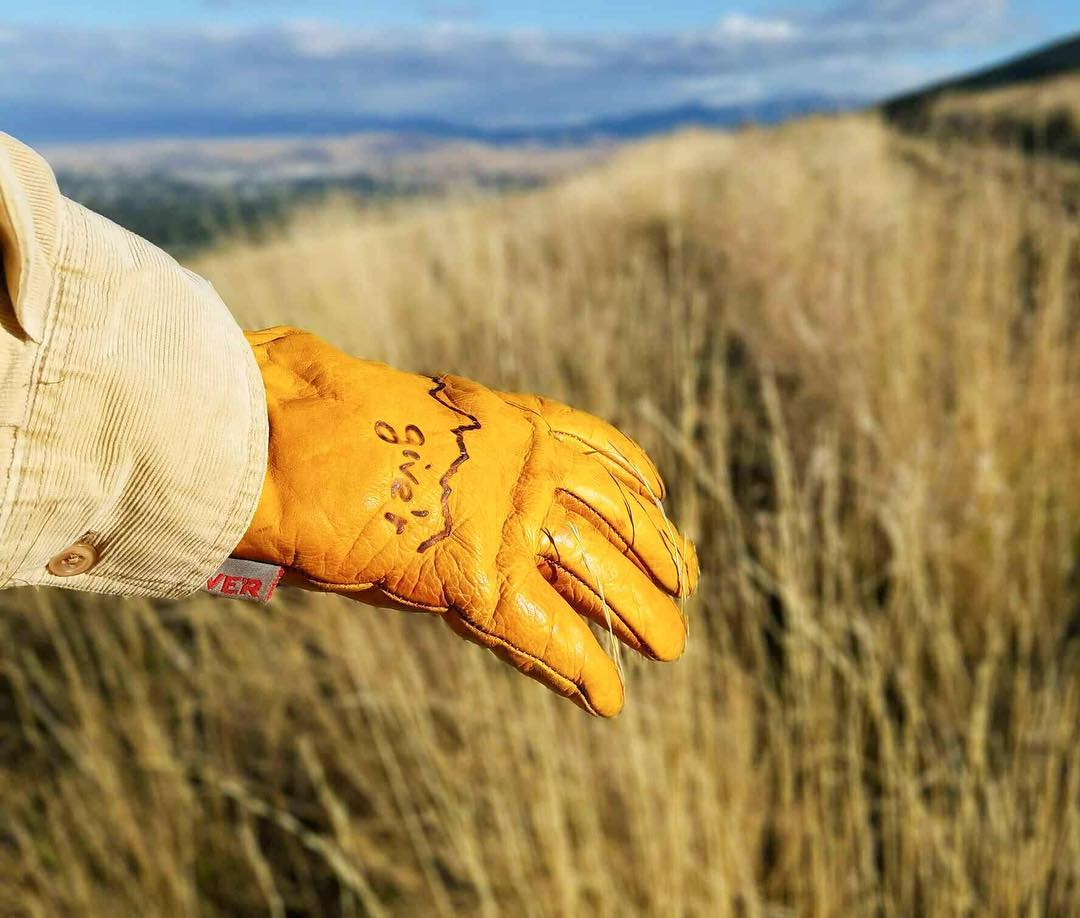 Geared up for #fall !? Be ready for anything. #giverjh #gloves4life