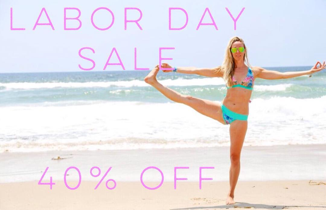 "Happy Labor Day Everyone! 40% off swimwear today through 9/6! Enter ""Laborday"" at checkout for discount! #localhoneydesigns #laborday #sale #reversible #swimwear #surf #sup #yoga #river #adventure #travel #functional #comfortable #swimwear #love"