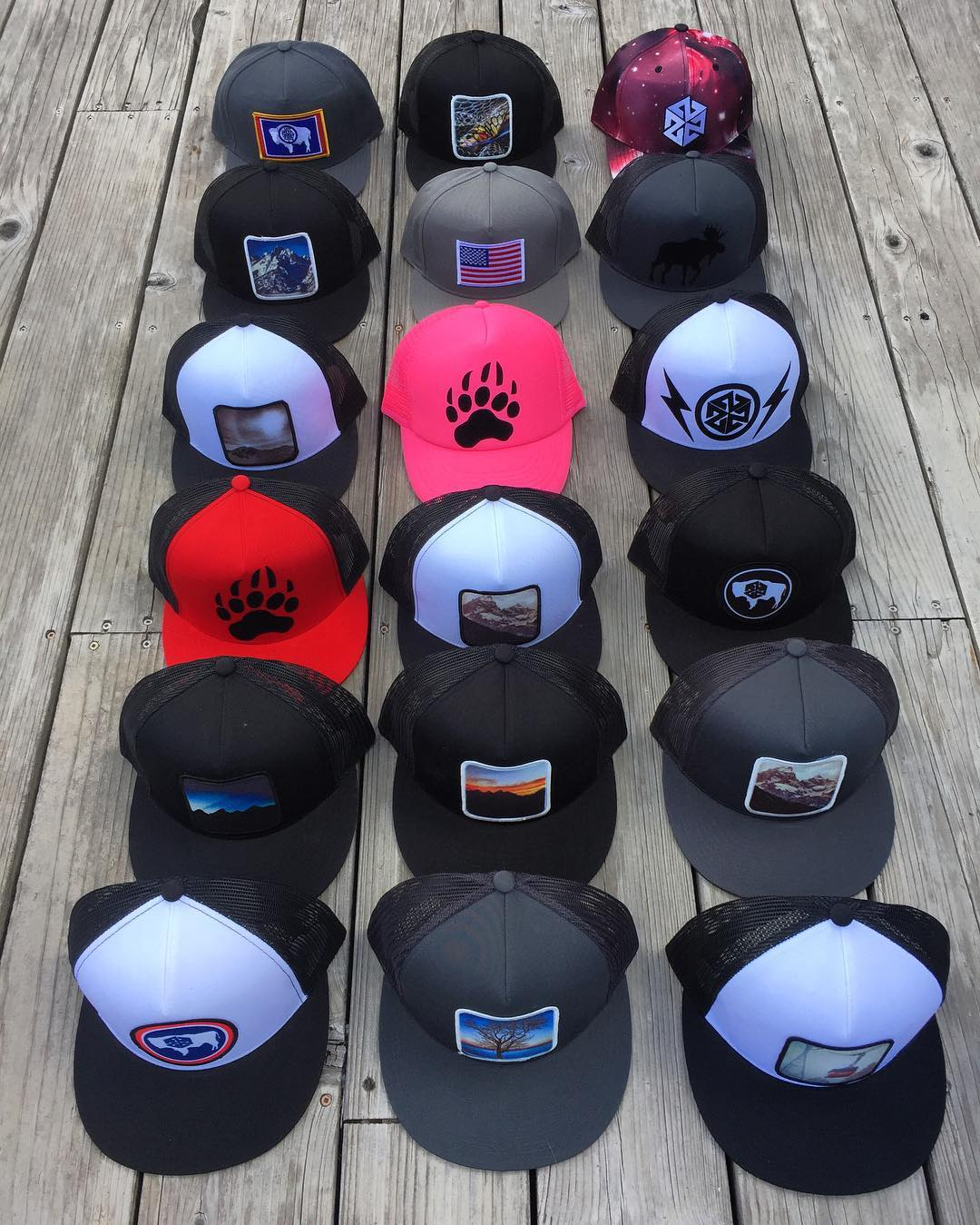 We spent Labor Day putting together some new designs for the art fair in Jackson Hole next weekend.  Handcrafted in the Tetons!  If you need a new hat or face shield click over to www.AVALON7.co and use the code liveactivated to get 20% off today! ...