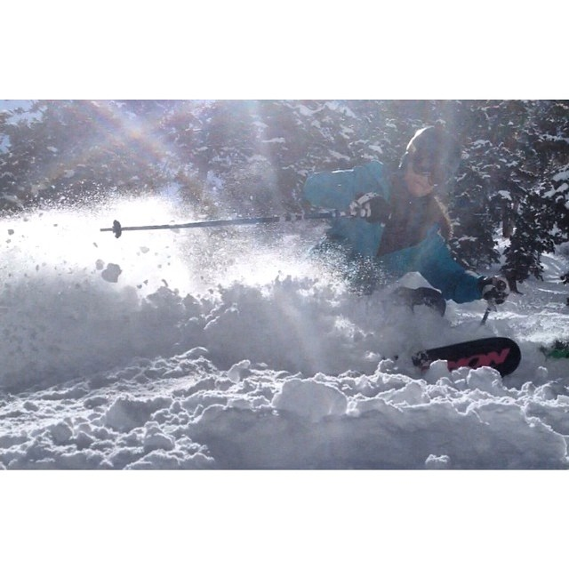 Sun&Snow Phot cred: @markruss3  #snowbird #skiutah #powder #springskiing