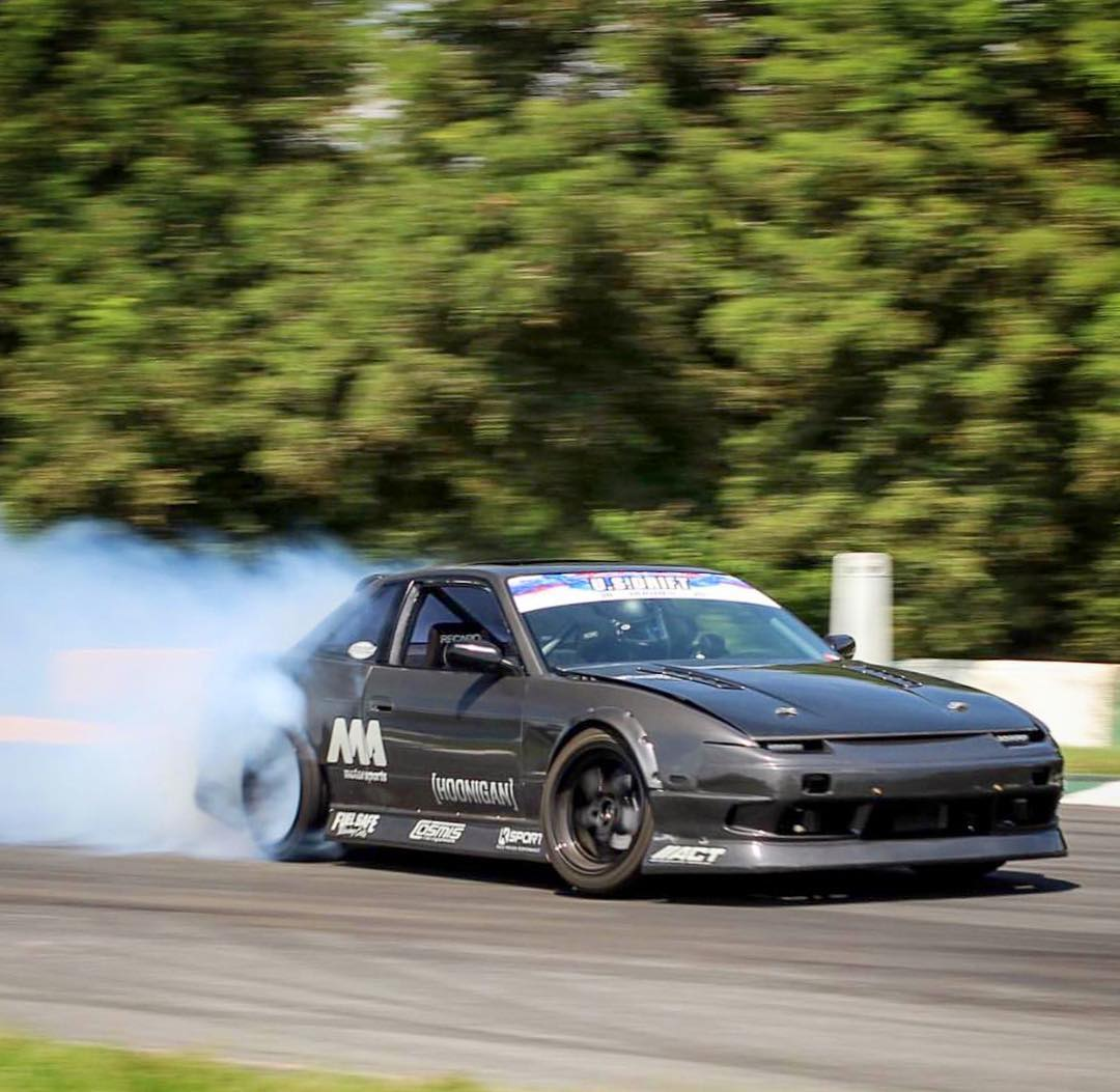 @dylanhughes129 may be a part of the team that builds those 1000hp 370Zs that we all know, but his personal weapon of choice- this LS3 powered s13! #killalltires