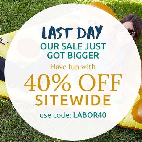 Last chance!! Happy Labor Day! #labordaysale