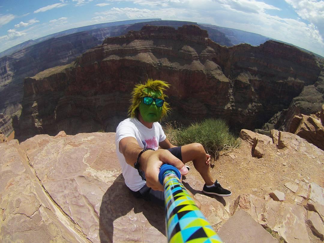 #TheZephyrGrinch se tomo una vacaciones, esta vez se fue a visitar el Gran Cañón del Colorado!