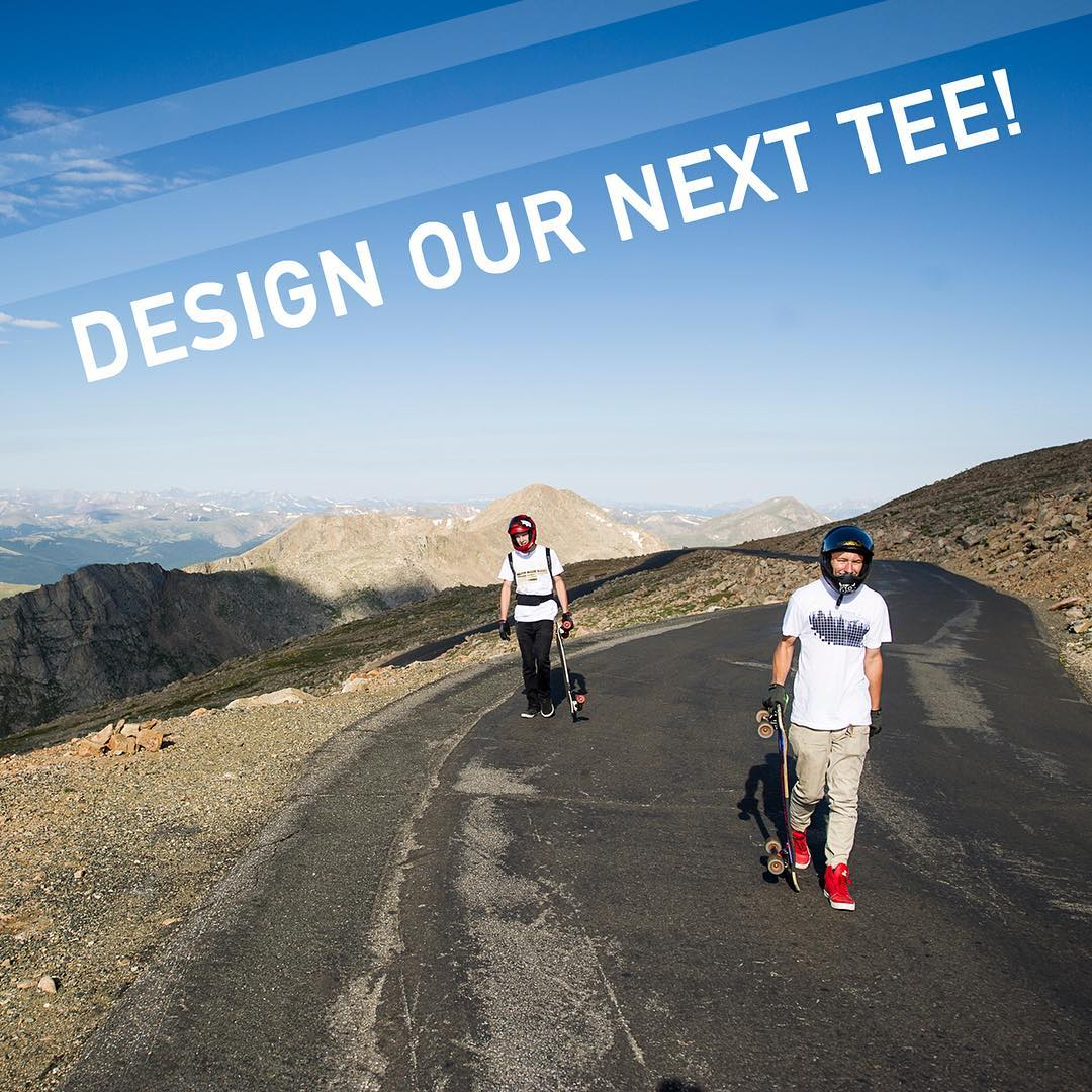 Design contest!  Tag a friend who loves design.  We are giving the winner a $100 gift card to the site, producing the t shirt for them and a couple friends, and will release the shirt on our site!  Good luck!  Details can be found on profile link.