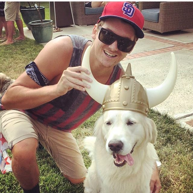 Hope you all had a good #LDW like our very own @kyle.simms and the Viking #Pooch shown!