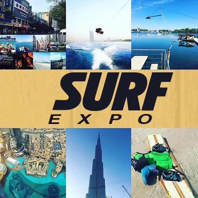 Good morning America! We're back to share the love @surfexpo #sharethelove #jobemoments