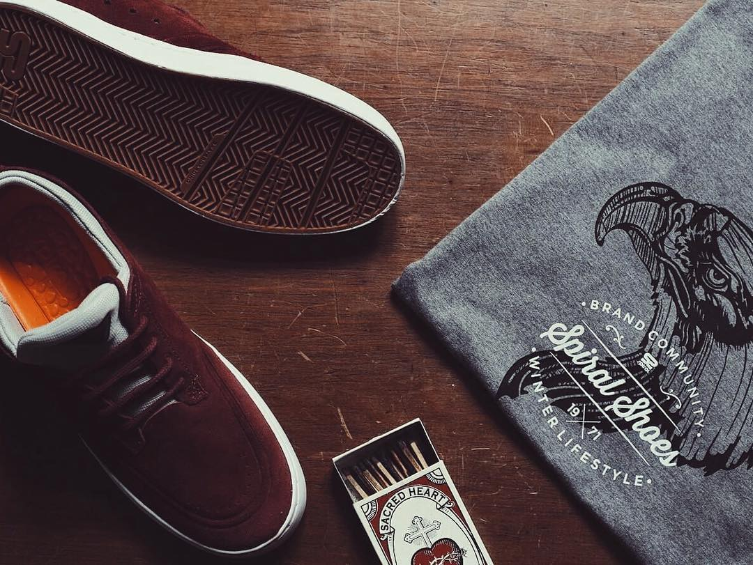 Morning Stuff #SpiralShoes #QualityShoes #Skatestyle #SpiralTees #Skateboarding #Skateordie #Skatelife