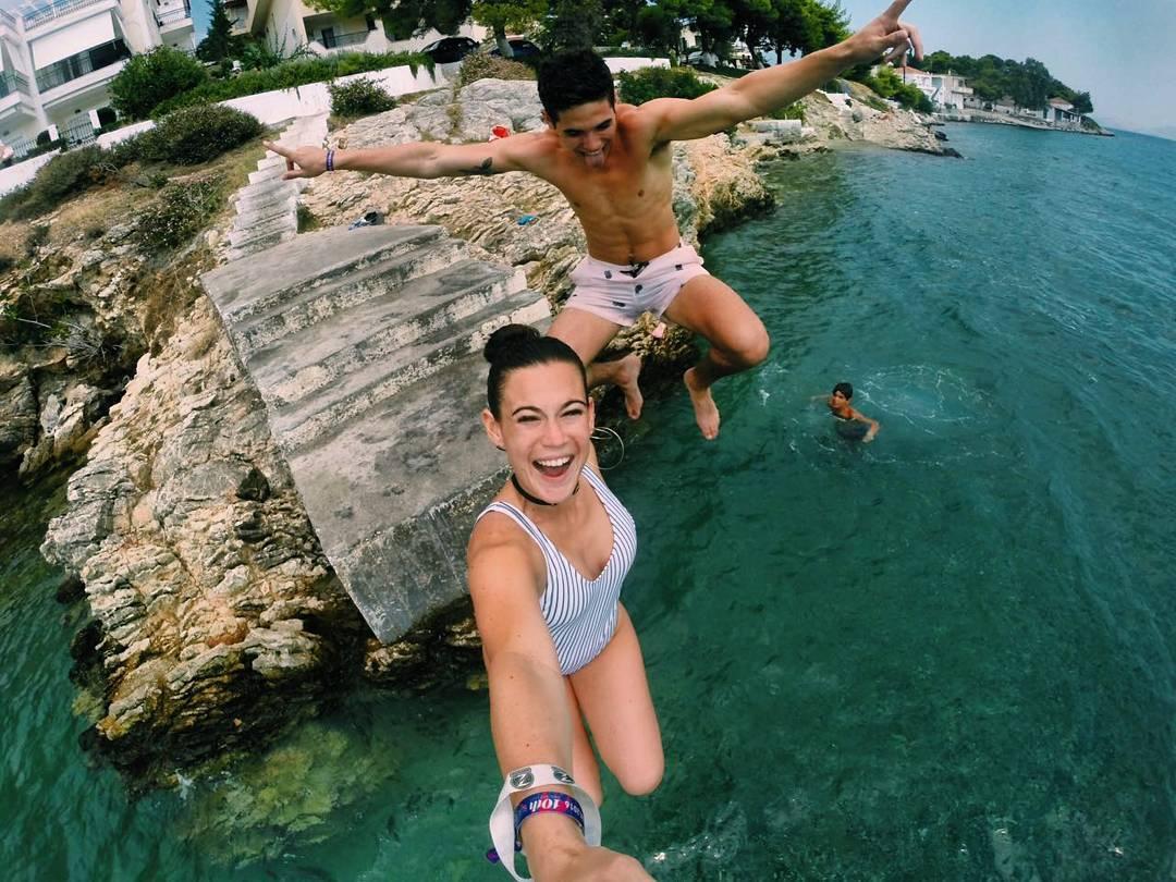 @lolitamoran desde #Grecia, con su #ZephyrPole!