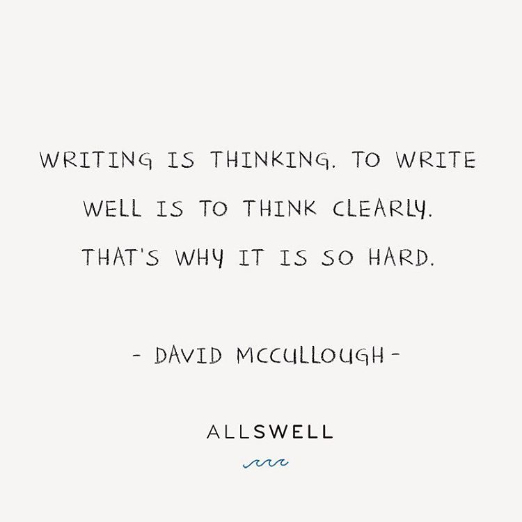 Facts are purest in the most simple of prose and #DaveMcCullough's masterful non­fiction is a testament to it. Put #pentopaper this #wisdomwednesday. You won't regret it.