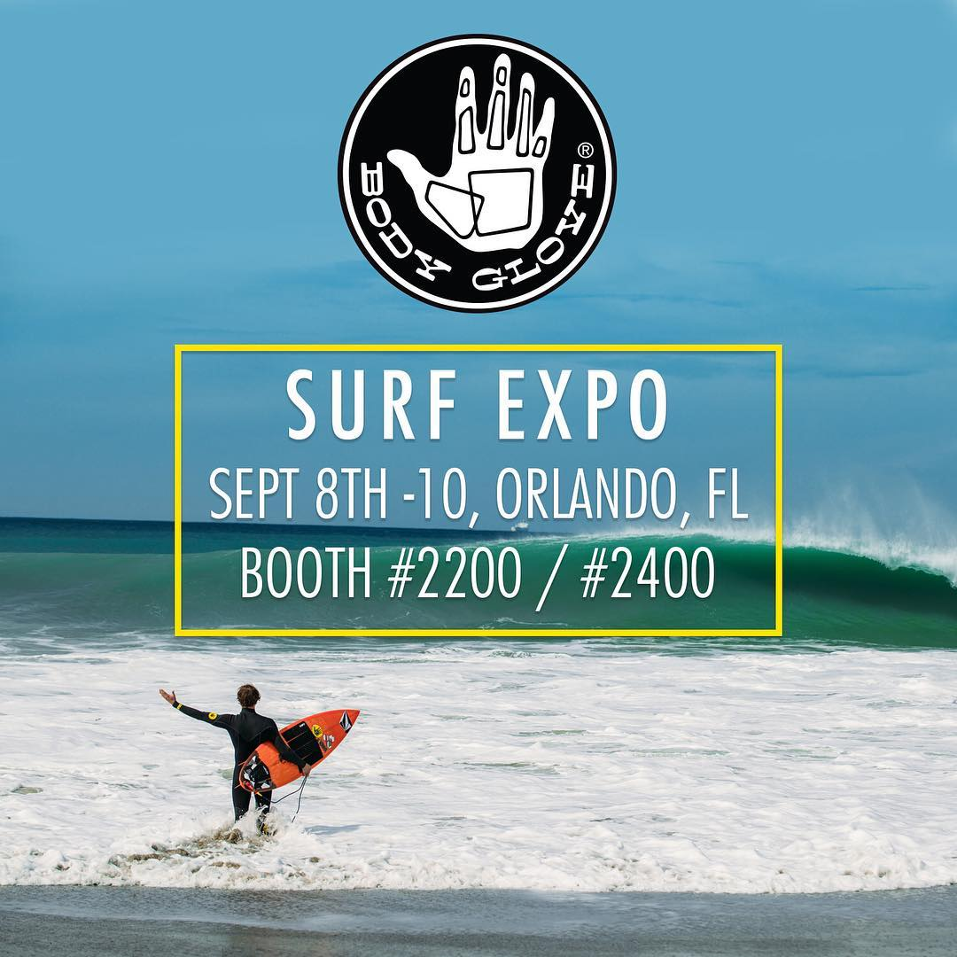 We are hanging in Florida this week for @surfexpo at the #orangecountyconventioncenter come on by booth 2200/2400 and say hi! We got some awesomeness dropping for 2017.  #bodyglove #allthingswater #surfexpo