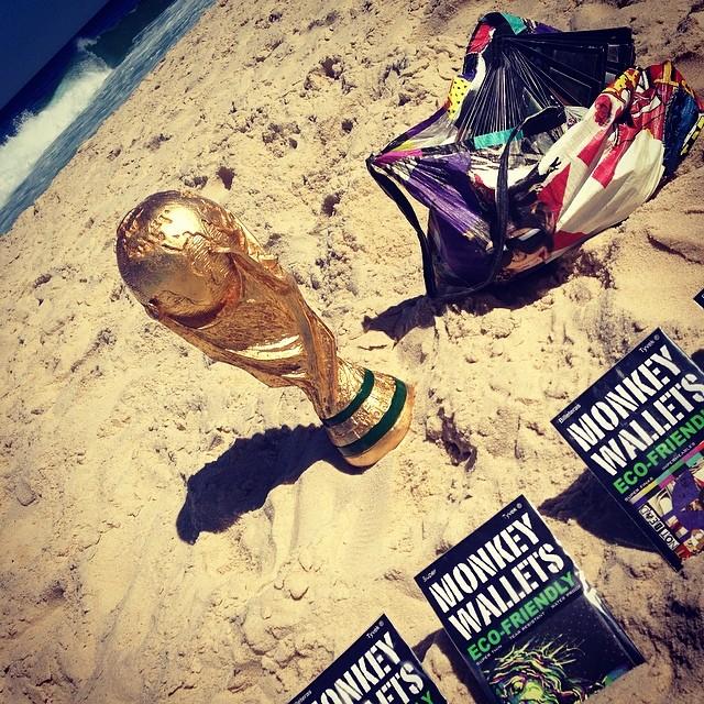 #fifa2014 #riodejaneiro #brasil2014 #monkeywallets @monkeywallets