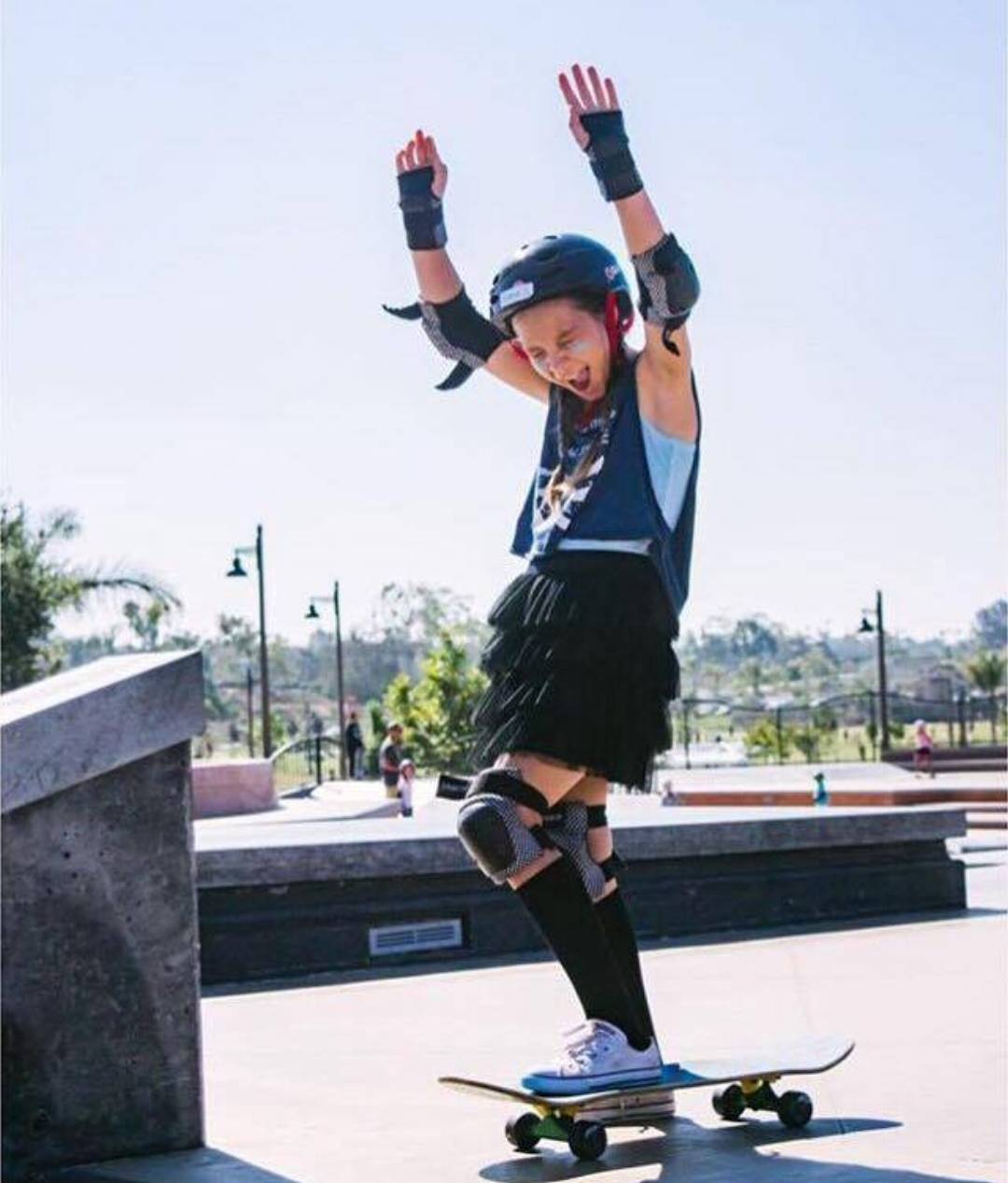 This Saturday, SEPTEMBER 10TH, 9-11am at the Encinitas Community Park! JOIN @skaterising!  This program provides opportunities for young girls to be involved in community service projects, followed by a free skate clinic and opportunity to skate with...
