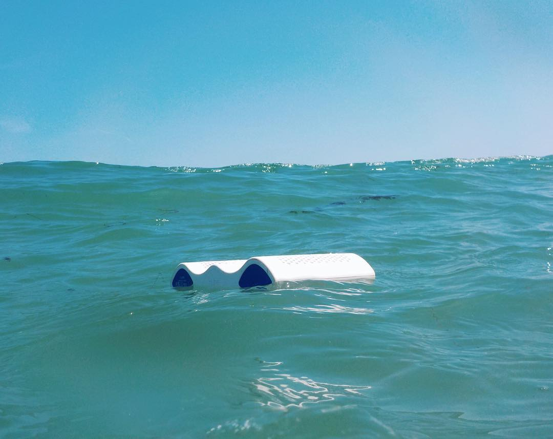 Some tunes to keep you afloat this #humpday. #NYNEaqua #lifesoundsgood #float #waterproofspeaker #wednesday #bluetooth #ocean #surf