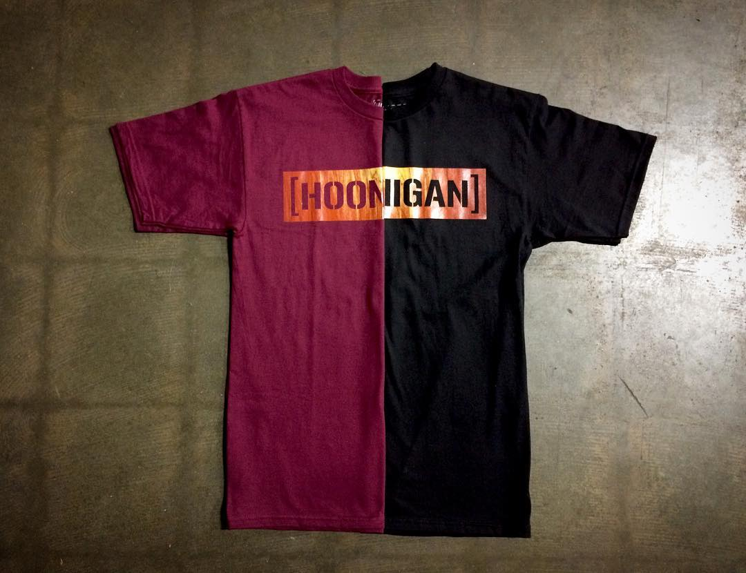 Wood grain C-bar, take your pick. Available now on Hoonigan.com (link in bio)!