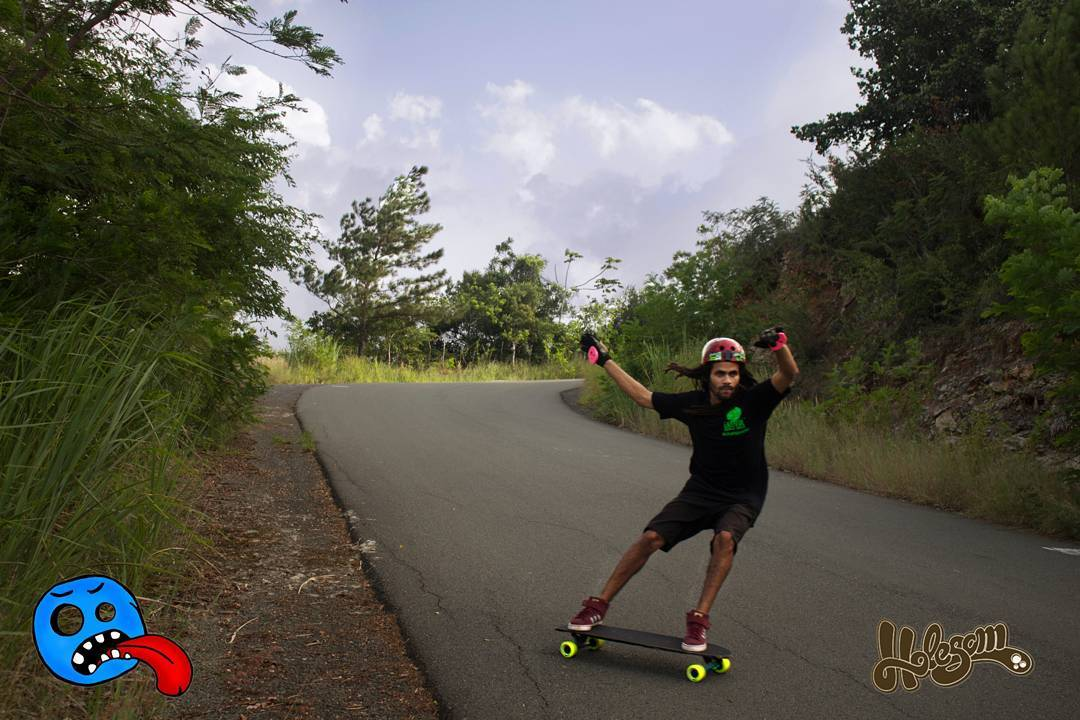 Once upon a time Kurativo bombed hills everyday in the Dominican leaving them smell better. Then, poof. Gone. Argentina. I know. He even started wearing other gloves and pucks. It was a sad period in longboarding, companies went under... Sector9 got...