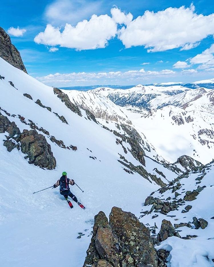 Hey, it's Austin Porzak, and he's doin stuff! @aporzak1 in his comfort zone, #RockyMountainNationalPark. #MHMgear #PacksElevated