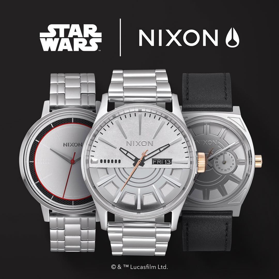 Welcome the #CaptainPhasma Collection. Inspired by the distinctive armor and veteran presence of the First Order stormtrooper commander. #StarWars | #Nixon