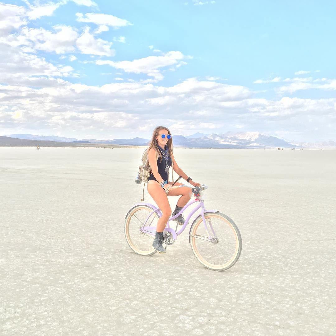 Is it the new paradise one piece or the magic of the Playa! @yotorieee is glowing with happiness!!