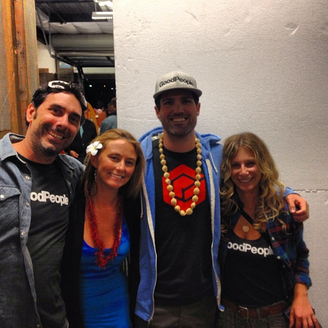 Mahalo @alisonsadventures and @prooflab for a great night! Time to go on an #adventure #gobigdogood