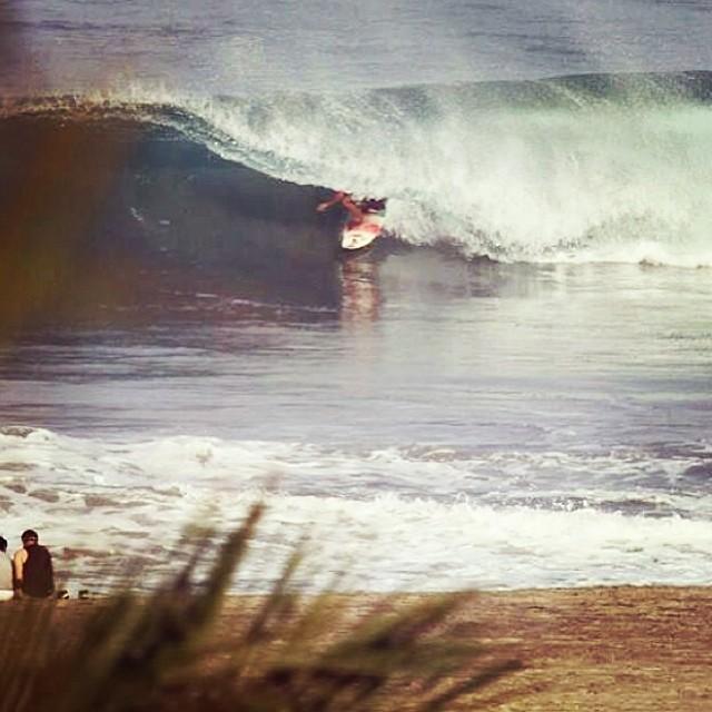 ~Covered @dylansouthworth ~ #HotlineWetsuits #SantaCruz #Barrel #Covered #Surf #TeamRider