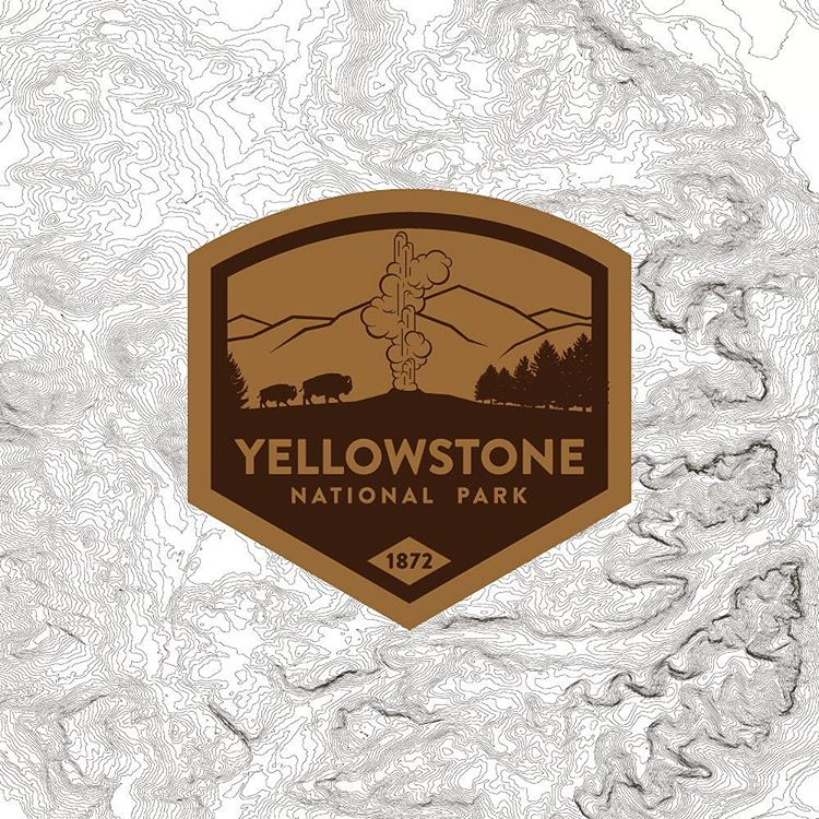 What's your favorite National Park?  #yellowstone #yellowstonenationalpark #wyoming #topo #topography